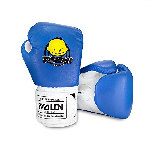 photo Wallpaper of SKL-Kinder Boxhandschuhe, Pu Kinder Kinder Cartoon Sparring Boxhandschuhe Training Alter 5-Blau