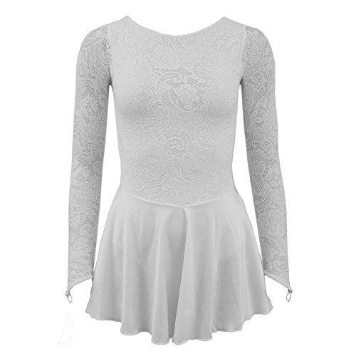 photo Wallpaper of Starlite-Starlite Flexuous White Zoe Dress With Lycra Skirt Large Adult (5)-Weiß