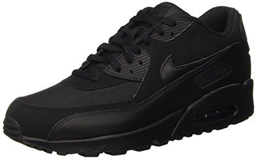 photo Wallpaper of Nike-Nike Air Max 90 537384, Herren Sneakers Training, Schwarz (Black/Black/Black/Black), 42-Schwarz (Black/Black/Black/Black)
