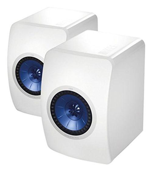 photo Wallpaper of KEF-KEF LS50 Monitor Lautsprecher (hochglanz Weiss)-