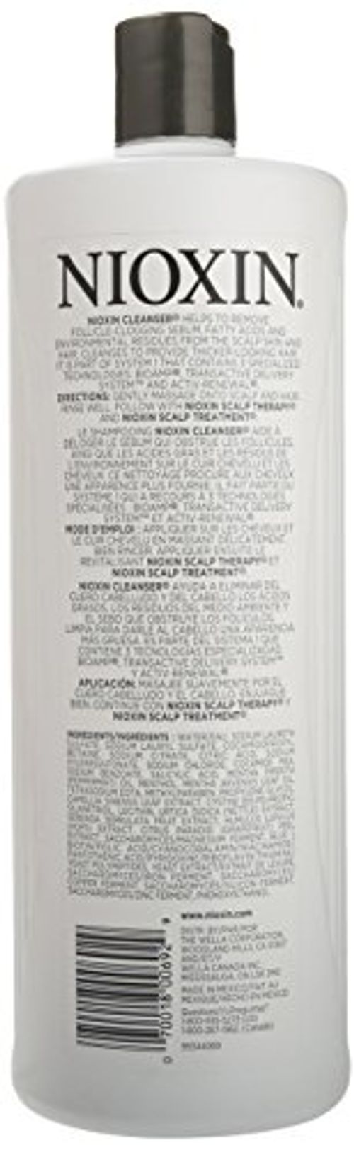 photo Wallpaper of Nioxin-Nioxin System 1 Cleanser   1000 Ml-