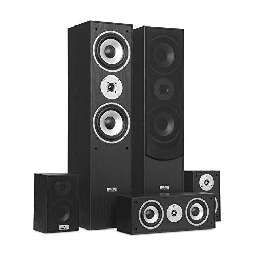 photo Wallpaper of auna-Auna Surround • Lautsprecher Boxen Set • Surround Sound System-schwarz