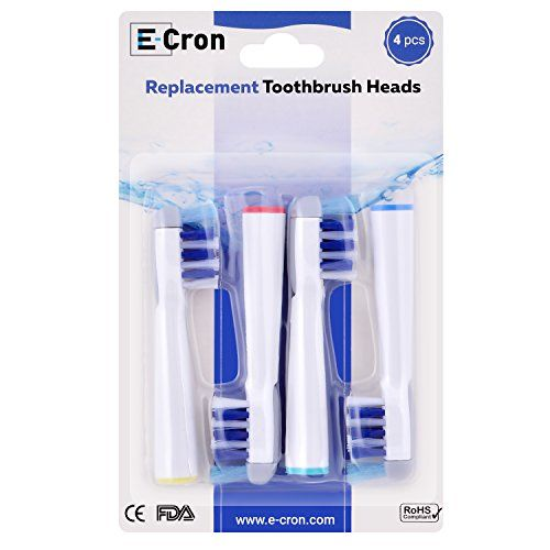 photo Wallpaper of E-Cron-16 Uds (4x4) De Cabezales Para Cepillos De Dientes E-