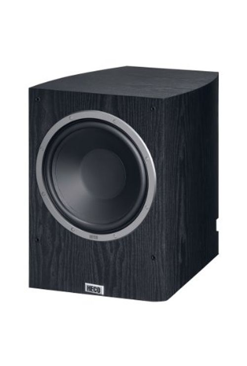 photo Wallpaper of Heco-Heco Victa Prime Sub 252 A | Aktiver Heimkino Subwoofer | 260mm Langhubtreiber Mit-Schwarz