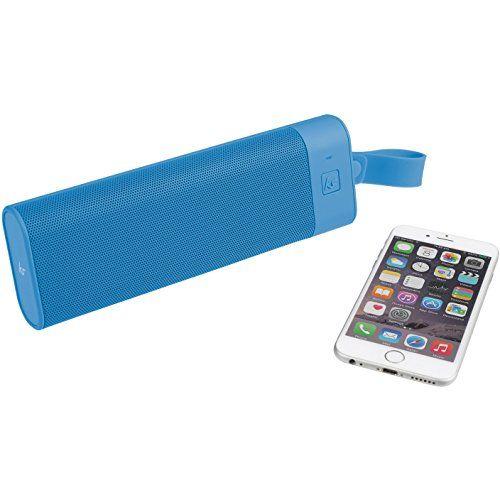 photo Wallpaper of KitSound-KitSound BoomBar+ Tragbarer Wireless Bluetooth Lautsprecher Soundsystem Mit 3.5 Audioeingang Universal Kompatibel Mit Apple-Blau