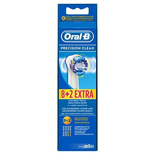 photo Wallpaper of Oral-B-Oral B Precision Clean   Cabezal De Recambio   8 + 2-Azul, Color Blanco