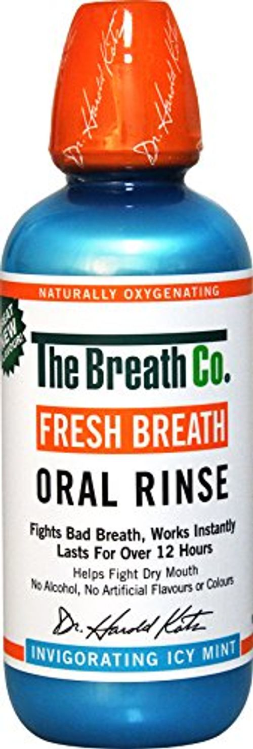 photo Wallpaper of The Breath Co-The Breath Co Fresco Respiración Oral Enjuague   500 Ml, Icy-