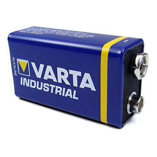 photo Wallpaper of Varta-Varta Industrial 4022 9V Block Alkaline Batterie MN1604 6LR61, 10 Stück-Andere