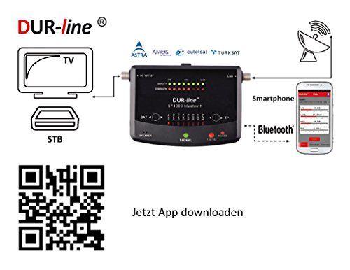 photo Wallpaper of DUR-line-NEUHEIT! Bluetooth Easy SatFinder   DUR Line SF 4000 BT -