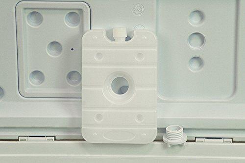 photo Wallpaper of 10T Outdoor Equipment-10T Fridgo 40L Passive Kühlbox Kühlbehälter 63x35x35cm PU Thermobox Mit Sicherheits Verschluß Tragegriffen-grün