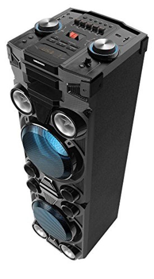 photo Wallpaper of Medion-Medion X67015 Party Soundsystem Mit Bluetooth 2.1 (Kompaktanlage, 1000 Watt, 2 X-schwarz