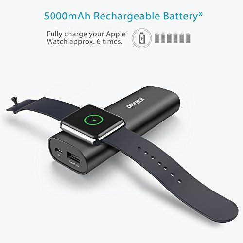 photo Wallpaper of CHOETECH-Apple Watch Ladegerät, CHOETECH [MFI Zertifiziert] 5000mAh Portable Powerbank, Magnetisches-
