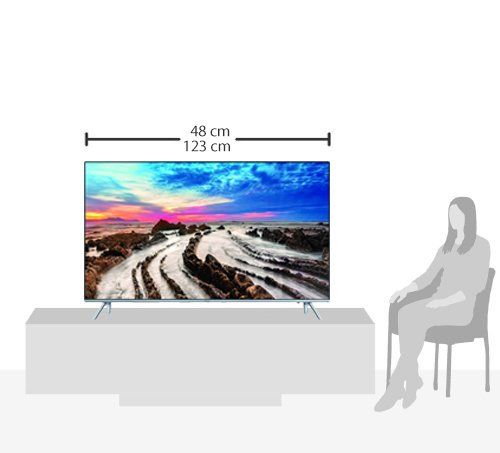 photo Wallpaper of Samsung-Samsung MU7009 138 Cm (55 Zoll) Fernseher (Ultra HD, Twin Tuner, HDR 1000, Smart-Silber