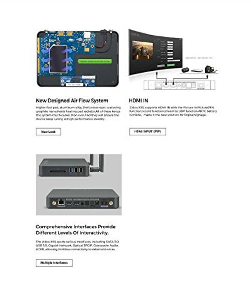 photo Wallpaper of Zidoo®-ZIDOO X9S TV Box Android 6.0 + OpenWRT(NAS) Duales System RTD1295-