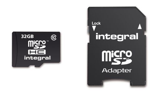 photo Wallpaper of Integral-Integral Class 10 Micro SDHC 32GB Speicherkarte Und Adapter (Amazon Frustfreie Verpackung)-