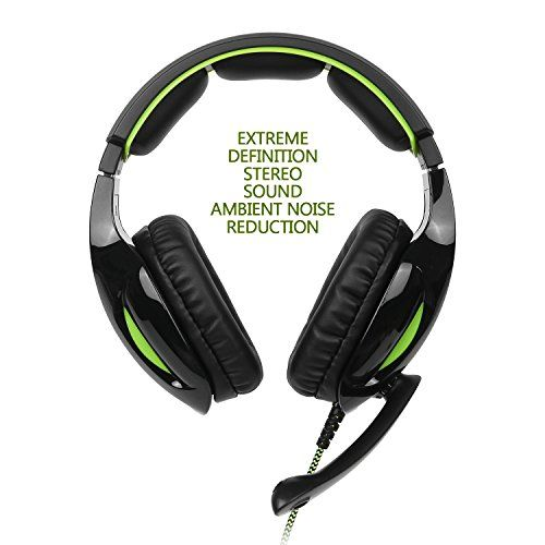 photo Wallpaper of Supsoo-[supsoo G813New Xbox One Gaming Headset] 3,5mm Stereo Wired Over Ear Gaming Headset-G813 Black
