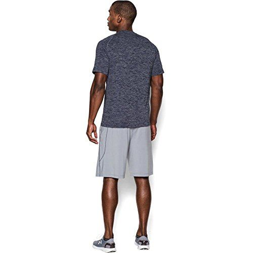 photo Wallpaper of Under Armour-Under Armour Ua Tech Ss Tee Herren Fitness   T Shirts & Tanks,-Academy/ Steel (414)