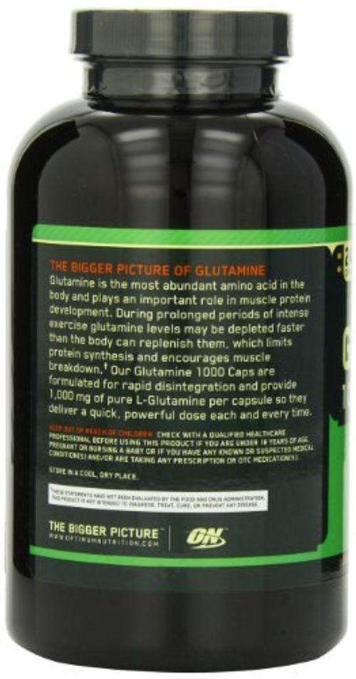 photo Wallpaper of Optimum Nutrition-Optimum Glutamina 1000   240 Caps-NA