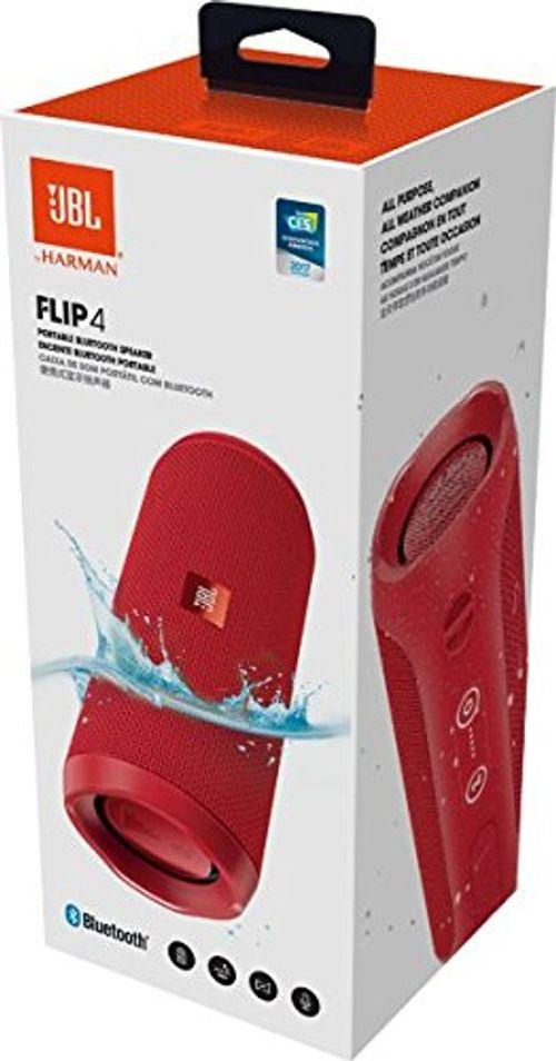 photo Wallpaper of JBL-JBL FLIP 4 (Ein Voll Ausgestatteter, Wasserdichter Und Mobiler Bluetooth Lautsprecher Mit überraschend Kraftvollem-Rot