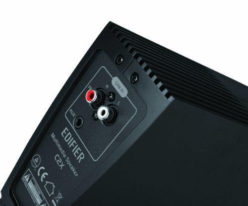 photo Wallpaper of Edifier-EDIFIER C2 X 2.1 Lautsprechersystem (53 Watt) Mit Infrarot Fernbedienung-High-Gloss Piano Black
