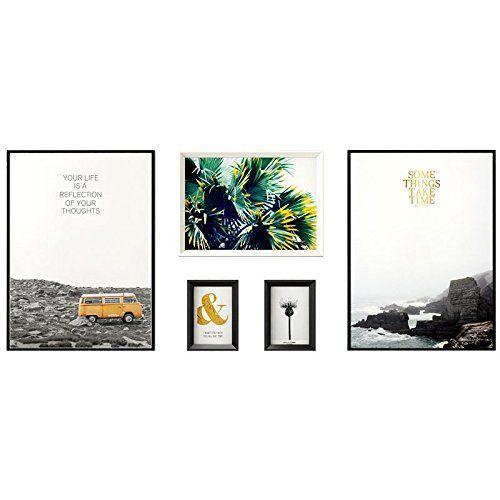 photo Wallpaper of Paintsh-Paintsh Nordeuropa Foto Wand Dekorative Bilderrahmen An Der Wand Hängenden Zeichnung Einfache, Moderne Zimmer-Teak White Summer Solstice