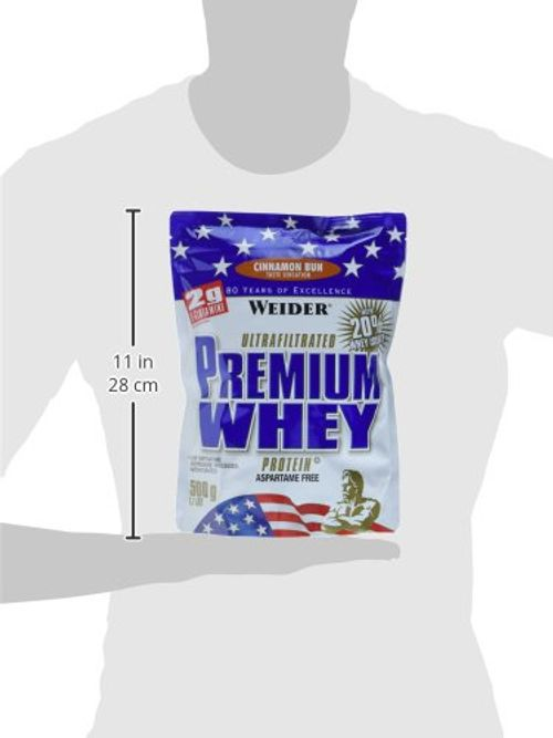 photo Wallpaper of Weider-Weider Premium Whey, Cinnamon Bun, 1er Pack (1 X 500 G)-Cinnamon Bun