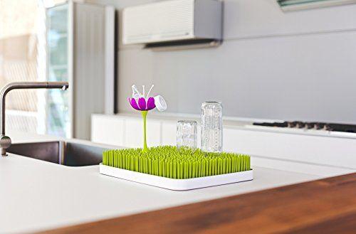 photo Wallpaper of Boon-Boon Lawn   Bandeja De Secado Para Biberones Con Diseño De Césped,-Verde