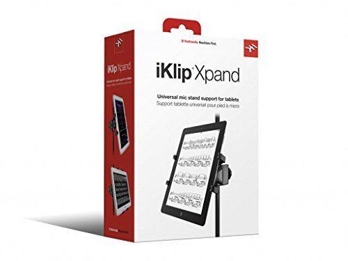photo Wallpaper of IK Multimedia-IK Multimedia IKlip Xpand Verstellbare Thermoplastik Halterung Für Tablet Bis-
