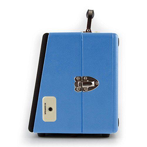photo Wallpaper of auna-Auna Buckingham • Plattenspieler Mit Lautsprecher • Schallplattenspieler • Riemenantrieb-blau