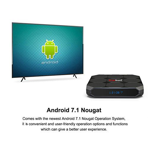 photo Wallpaper of Wingogo-A95X R2 Smart TV Box Android 7.1 2GB/16GB Quad Core 4K HD WiFi-