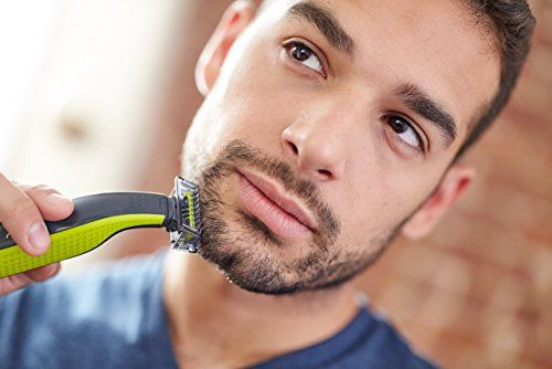 photo Wallpaper of Philips-Philips OneBlade QP2520/30   Recortador De Barba, Recorta, Perfila-Verde, Gris