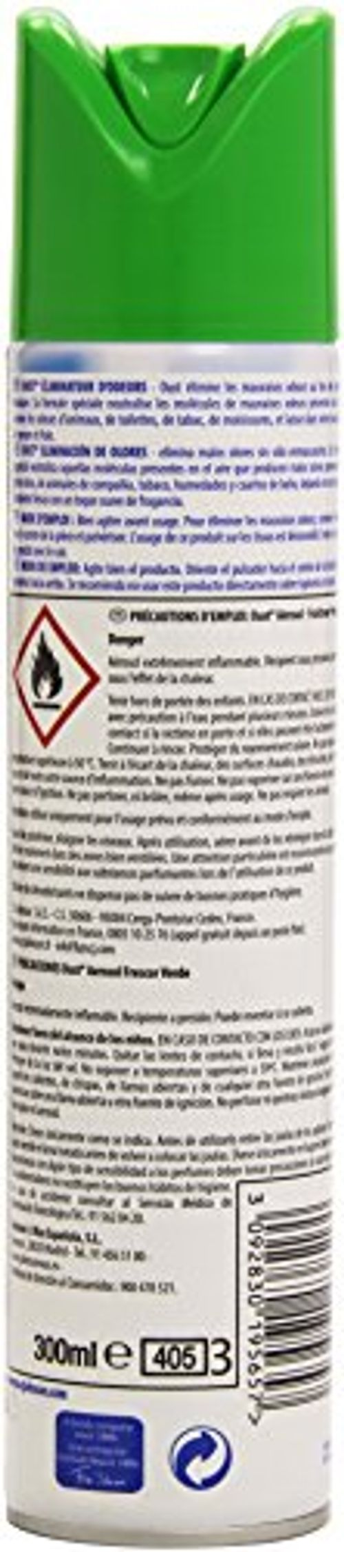 photo Wallpaper of Oust-Oust Lufterfrischer Geruchsbeseitigung, Frische, 300ml-Bunt