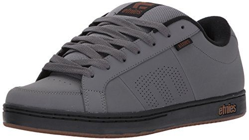 photo Wallpaper of Etnies-Etnies Herren Kingpin Skateboardschuhe, Grau (Grey/Black/Gold), 41.5 EU-Grau (Grey/Black/Gold)