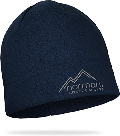 photo Wallpaper of Normani-Trendige Winter  & Skimütze Aus Mikrofleece Farbe Navy-Navy