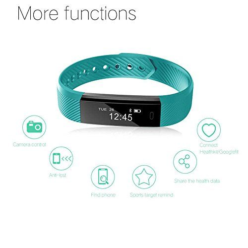 photo Wallpaper of Arbily-Pulsera Inteligente, Arbily Fitness Tracker Smart Wristband Bracelet Monitorear La Actividad De-verde