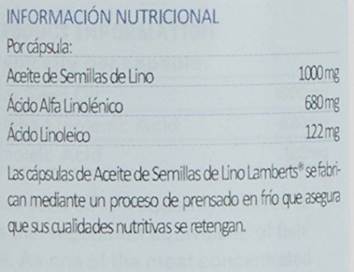 photo Wallpaper of Lamberts-Lamberts Aceite De Semillas De Lino 1000 Mg  -