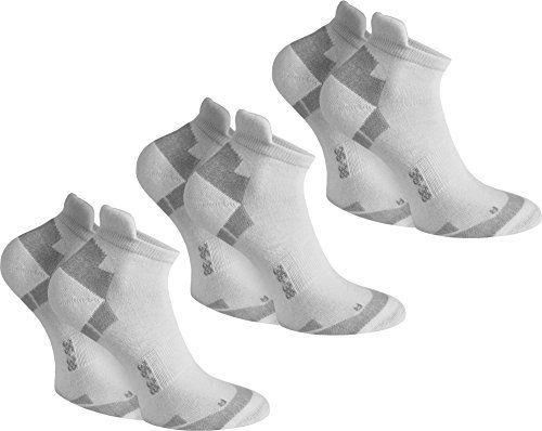 photo Wallpaper of normani-Normani 3 Paar Coolmax Sport Sneaker Socken   Laufsocken Mit Klimaregulierender Faser In-Weiß
