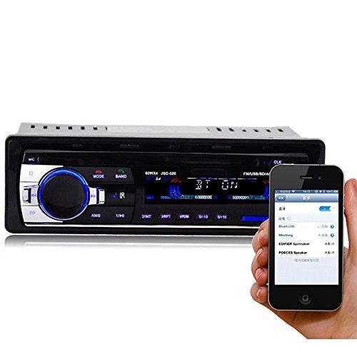 photo Wallpaper of PolarLander-PolarLander Autoradio Audio USB / SD / MP3 Player Receiver Bluetooth-520