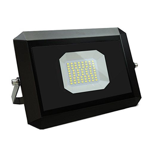 photo Wallpaper of SZMAYA-LED Flutlicht 50W Outdoor Wasserdicht Wand Sicherheit Lichter Für Garagen-6000k
