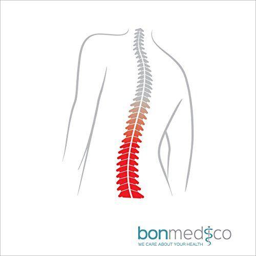 photo Wallpaper of bonmedico-Bonmedico® Virto, Soporte De Espalda Transpirable Con Varillas Para Aliviar Las Vértebras Lumbares,-