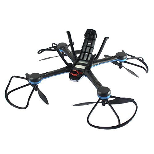 photo Wallpaper of Frog Studio Home-Gemtune H11C Medium RC Four Axis UAV Carrying LED Light With Aerial Photography-White