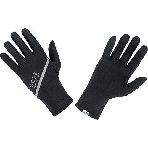 photo Wallpaper of Gore Running Wear-GORE RUNNING WEAR Herren Lauf Handschuhe, Super Leicht, GORE Selected Fabrics,-Schwarz