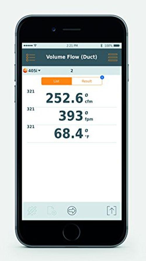 photo Wallpaper of Testo SE & Co.KGaA-Testo 405i Thermo Anemometer Mit Smartphone Bedienung, 0560 1405-
