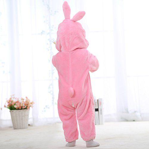 photo Wallpaper of MICHLEY-MICHLEY Baby Mädchen Und Junge Flanell Frühling Strampler Pyjama Kostüm Bekleidung-Pink