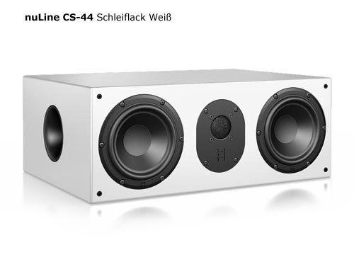 photo Wallpaper of Nubert-Nubert NuLine CS 44   Heimkino   Center Lautsprecher (Stück)-Mehrschichtlack Weiß