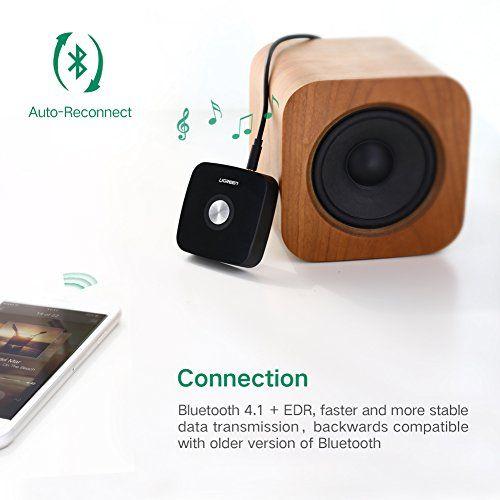 photo Wallpaper of UGREEN-UGREEN Bluetooth Empfänger 4.1 Bluetooth Receiver Wireless Audio Adapter Mit 3.5mm-