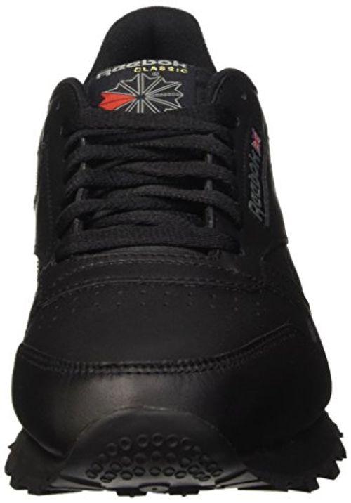 photo Wallpaper of Reebok-Reebok Classic Leather, Herren Sneakers, Schwarz (Int Black), 39-Schwarz (Int-black)