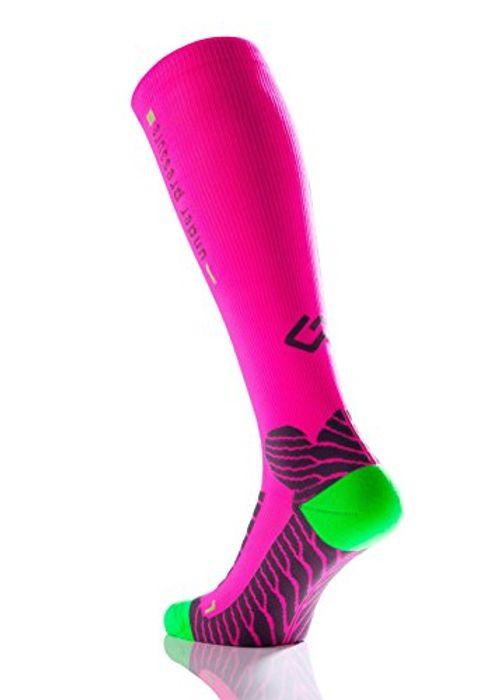 photo Wallpaper of under pressure sox-Sport Kompressionsstrumpf Under Pressure RUNATTACK (Kompression: 18 21mmHg) (neon Pink,-neon pink