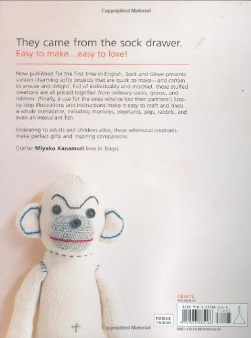 photo Wallpaper of HP Books-Sock And Glove: Creating Charming Softy Friends From Cast Off Socks-