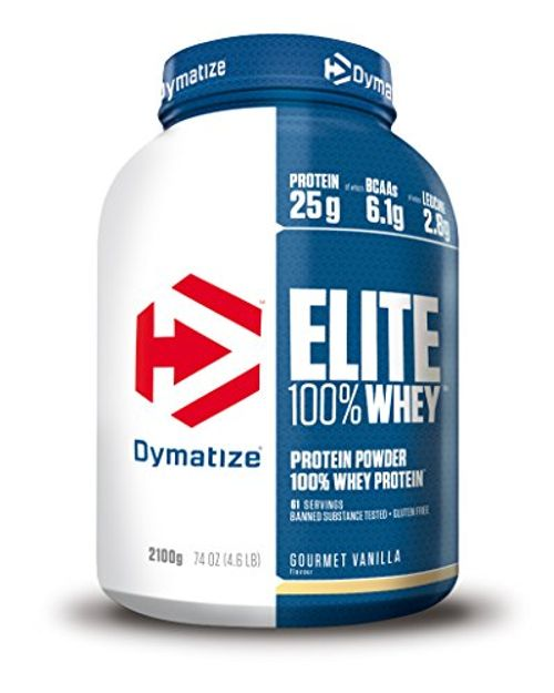 photo Wallpaper of Dymatize-Dymatize Elite Whey Gourmet Vanilla   2100 Gr-